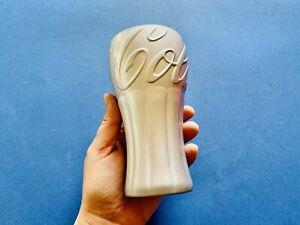 🔴 rarissimo e introvabile bicchiere COCA COLA in Vetro effetto Metal Art