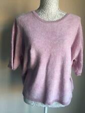 M&S Womens Rose Pink Top Jumper Size 22 (02)