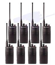 8 Motorola Rdu4100 Uhf Two Way Radio Walkie Talkies 10 Channel 4 Watt Rdx Series