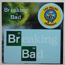"Breaking Bad Logo Car Window Sticker Decal 5""  PLUS 2nd Sticker Los Pollos Herm"