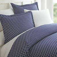Hotel Collection - 3 Piece Premium Quatrefoil Duvet Cover Set