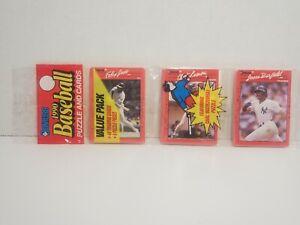 Vintage * MLB * Donruss * Baseball * 1990 * Rack Pack * Jose, Lemon, & Barfield