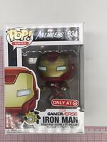 Funko Pop Marvel Avengers Iron Man 634 (Target Exclusive) NOT MINT BOX O022