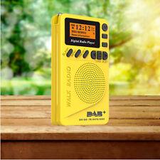 Pocket DAB+ Digital Stereo Radio Tuner FM Transmitter SD MP3 Player LCD Display