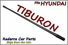 "FITS: 1997-2006 Hyundai Tiburon - 13"" SHORT Custom Flexible Rubber Antenna Mast"