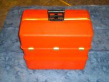 "Vintage UMCO ""Orange"" Possum Belly Tackle Box"