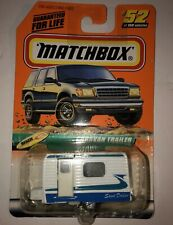 Matchbox #52 Caravan Trailer Camper Sand Dollar -  NEW SEALED on Card
