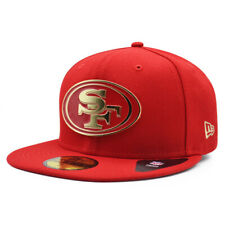 San Francisco 49ers NFL The Metal Touch 59FIFTY Fitted Hat - Scarlet/Gold
