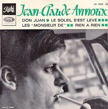 """45 T EP JEAN CLAUDE ANNOUX  """"DON JUAN"""""""