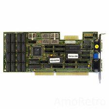 Tseng Labs ET3000 - VGA & EGA Kombi ISA Grafikkarte für DOS Gaming 286 / 386