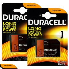 2 x Duracell Alkaline J 6V batteries 4LR61 7K67 539 KJ 1412AP Camera EXP:2019