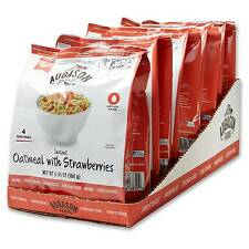 Augason Farms Instant Oatmeal with Strawberries - 6ct