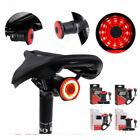 Bremsinduktion Fahrrad Rücklicht Bremslicht LED Blinker USB Wasserdicht