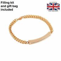 Gold Bracelet Bangle Keepsake Cremation Urn Ashes Funeral Memorial Jewellery