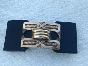 Ancienne Boucle de ceinture d'époque Art déco  8,5 x 3,5 cm
