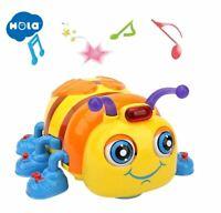HOLA - abeille jouet sonore Musical éducatif interactif pour enfant 1-3 ans