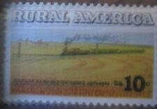 RURAL AMERICA MNH UNTAGGED ERROR Set of 2 Correct & Error Stamps Scott's 1507