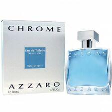 Azzaro Chrome Eau De Toilette Hommes Neuf 50ml
