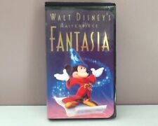 Walt Disney Fantasia Christmas Lead VHS Tape 1991 #1132  10-05-1991