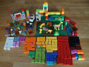 Lego duplo Bausteine Figur Tiere Platte gebraucht Steine Set