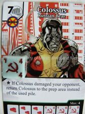 Avengers vs X-Men COLOSSUS Russian Bear #68/132 Marvel Dice Masters Card Wizkids