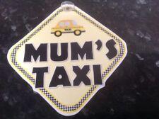 mums taxi car window sign fun sign mum taxi service