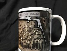 Colt 1911 Pistol Coffee Mug 45 auto Tactical Military WWI WWII