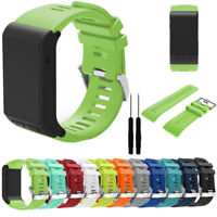 Replacement Sports Silicone Bracelet Wrist Strap Band For Garmin Vivoactive HR