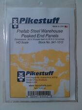RIX PRODUCTS - PIKESTUFF -  HO Scale PREFAB WAREHOUSE END PANELS - 541-1012