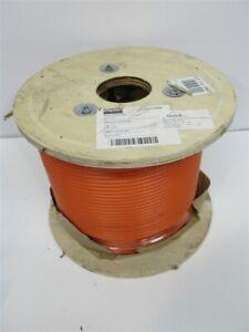 "Dayton 33RG46, 7 x 7 Strand Core, 3/16"" Cable Size, 500', Orange Vinyl"