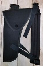 """Uncle Mikes LH Bandolier Blk Holster 4.5"""" - 7.5"""" lg frm rev 9304-2  S&W 17 29 66"""