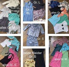 31 Teile Kleidung Klamotten Paket Oberteil Schlafanzug Kleider Shirt Gr. S / M