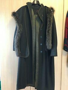 Damen Mantel Gr.: 36, 100% Schurwolle - rachor - Original Tiroler Loden
