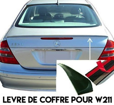 LAME COFFRE SPOILER BECQUET LEVRE pour MERCEDES W211 Classe E 2002-06 E350 E500