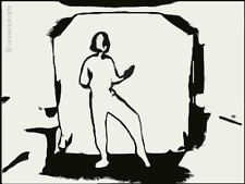 MARIO STRACK  - E-Motion 4 limitiert Grafik Original signiert Druck Bilder Kunst