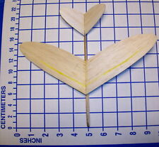 FRED FRED '99 1/2 Pint Glider hand or catapult launch flying all balsa laser cut
