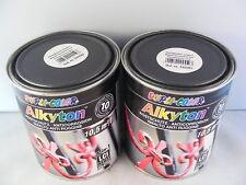 Dupli Color Rostschutz-Lack 2 x 750 ml Eisenglimmer schwarz 245503
