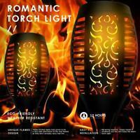 Outdoor 12LED Solar Torch Dance Flackerndes Flammenlicht Wasserdichte Lampe