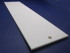 """Cast Nylon Sheet Natural (1/2"""") .500"""" Thick x 12"""" Wide x 48"""" Length"""