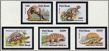 VIETNAM N°1100A/1100E**  DINOSAURES, 1990 Vietnam 2113-2117 DINOSAURS MNH