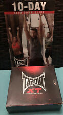 TapOut XT Extreme Training 13-DVD Workout Fitness Training MMA W/ Slim Down Book
