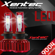 XENTEC LED headlight Conversion kit 9004 HB1 6000K 1998-2000 for Nissan Frontier
