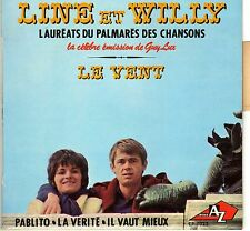 LINE ET WILLY LE VENT FRENCH ORIG EP ALAIN GORAGUER