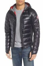 $1295 CANADA GOOSE Men BLACK GRAY DOWN LITE HOODY JACKET WINTER COAT SIZE S