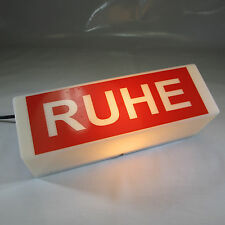 RUHE WANDLEUCHTE STUDIO HINWEISLEUCHTE DEKOLAMPE  E14 KERAMIK FASSUNG