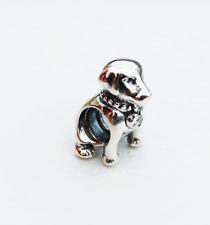 """Genuine Pandora Silver Charm """"Labrador Retriver Dog"""" - 791379CZ - retired"""