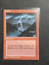FULMINE - LIGHTNING BOLT FRANCESE   -  MTG MAGIC [MF]