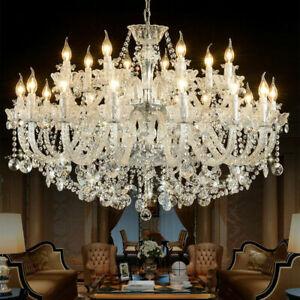 Luxury Crystal Chandelier Pendant Lamp living room Ceiling Lighting LED Lighting