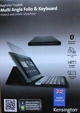 Kensington Wireless Keyboard KeyFolio Expert Windows IOS iPad Air 1/2 iPad 5/6