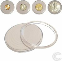 40 x Coin Holder Capsules for All US Coins 46mm Diameter *SHIPS FREE USA*